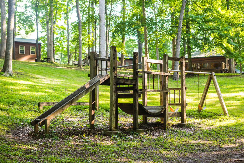 Playground at Lost Lodge